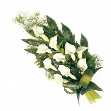 Poza Buchet funerar din cale albe